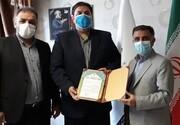 حکم جدید رئیس سازمان لیگ فدراسیون ورزشهای زورخانه و کشتی پهلوانی