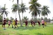 آخرین تمرین سرخ پوشان قبل از بازی امشب با الوحده امارات
