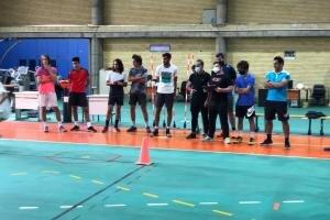 تست آمادگی جسمانی از تنیسورهای تیم ملی انجام شد