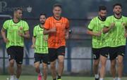 آخرین تمرین شاگردان گلمحمدی قبل از بازی امشب