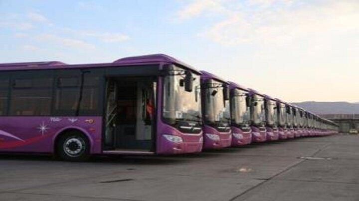 افزایش اتوبوس ومینی بوس در ناوگان حمل ونقل شهر تبریز