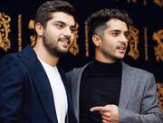 """""""ساعد و سینا """" برادران جذاب سینمای ایران + عکس"""