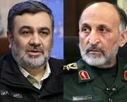 تبریک و تسلیت فرمانده ناجا در پی شهادت سردار حجازی