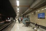 ایستگاه اقدسیه در بخش شمالی خط ۳ مترو تهران در شرف بهره برداری