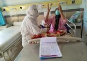 خدمت رسانی خواهران گروه جهادی  شهید احمدی روشن  + تصاویر