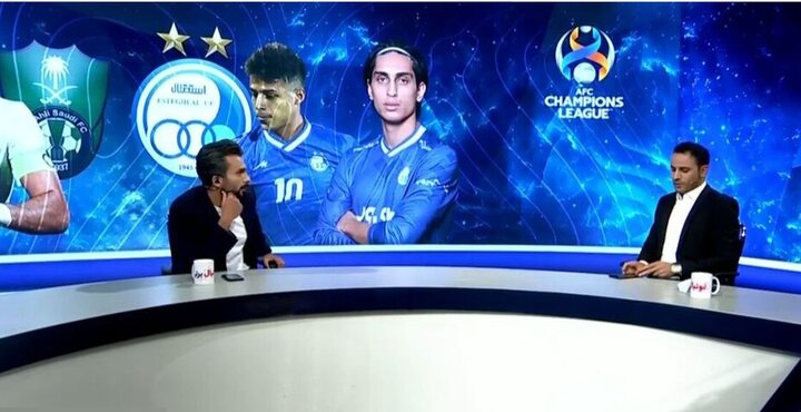 آقای گل استقلال و پرسپولیس در یک برنامه تلویزیون