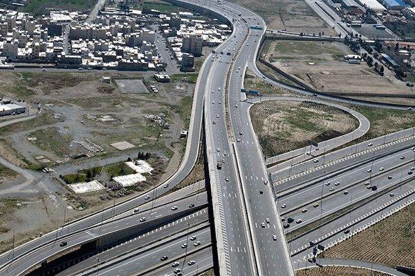 وضعیت تردد در محورهای برونشهری