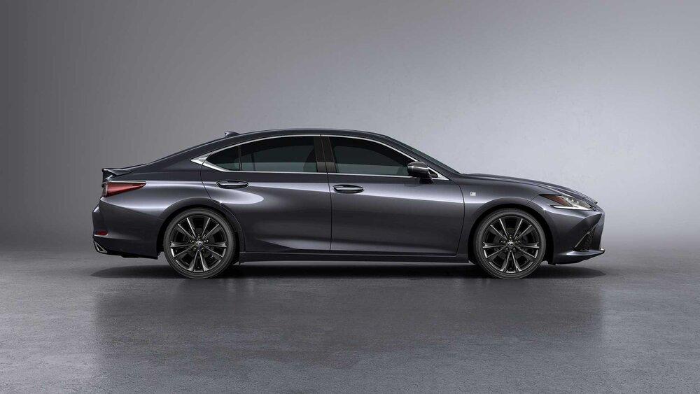 تصاویر خودروی لکسوس ۲۰۲۲ ES با فناوری جدید 6