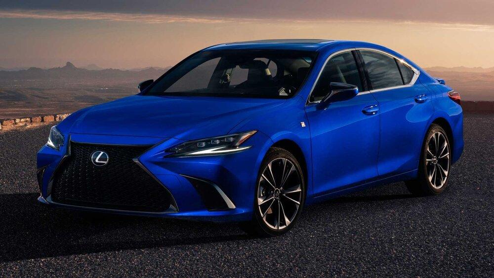 تصاویر خودروی لکسوس ۲۰۲۲ ES با فناوری جدید 5
