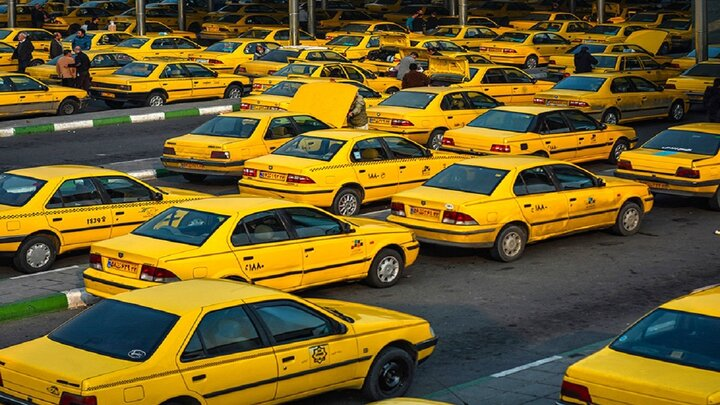 کرایه تاکسی از امروز  گران شد