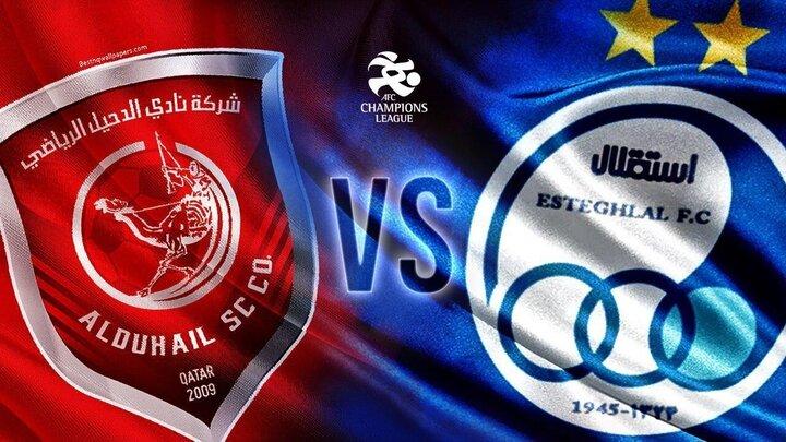 استقلال 3 - الدحیل قطر 4 /اولین شکست آبی پوشان