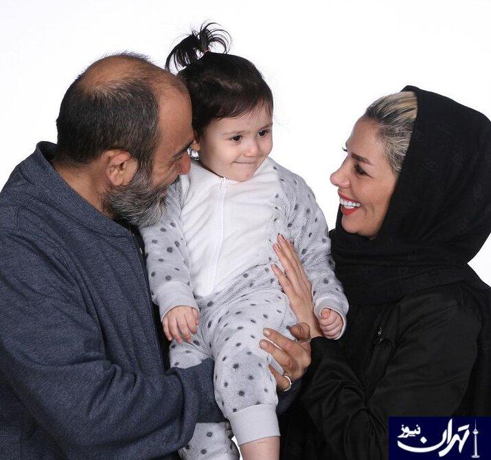 خانواده قشنگ مهران غفوریان + عکس