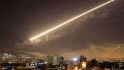 مقابله پدافند هوایی سوریه با جنگندههای رژیم صهیونیستی