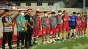 نساجی جایگاه خود در لیگ برتر فوتبال امید را حفظ کرد
