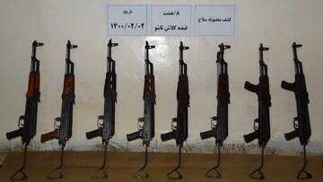 کشف محموله سلاح جنگی توسط سربازان گمنام امام زمان (ع)