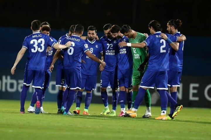 جدول گروه استقلال در لیگ قهرمانان آسیا بعد از شکست مقابل الدحیل