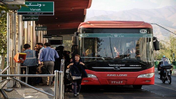 واکسیناسیون ناوگان اتوبوسرانی پایتخت