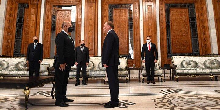 دیدار معاون نخستوزیر روسیه با رئیس جمهور عراق
