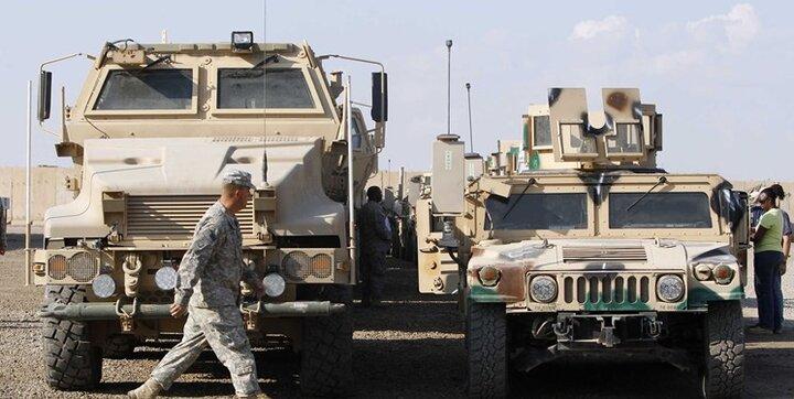حمله راکتی سوری ها به نظامیان آمریکایی در مقابل غارت نفت  ومنابع نفتی