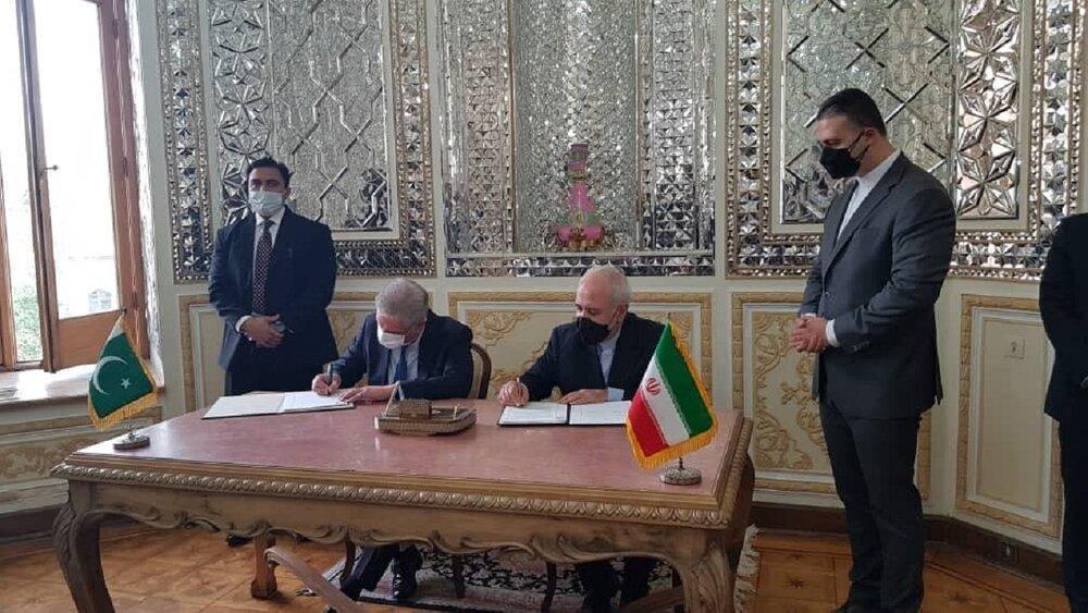 امضای تفاهم نامه ایران و پاکستان