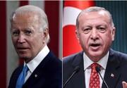 گفتگوی تلفنی بایدن و اردوغان