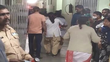 آتش سوزی در بخش بیماران کرونایی بیمارستان + جزئیات