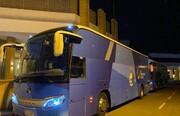 ممنوعیت نزدیکی همراهان کاروان استقلال به اتوبوس