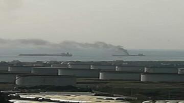 انفجاری در یک نفتکش در آبهای سوریه