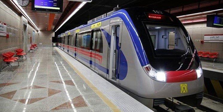 خدمات رسانی رایگان متروی تهران در شبهای قدر/اعلام ساعت حرکت قطارها