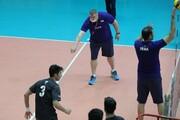 تهیه ی فیلم از تمرینات آلکنو با تیم ملی والیبال