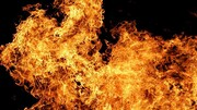 زن بیچاره زنده زنده در آتش سوخت + عکس