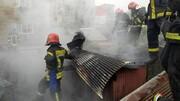 سوختن مرد 72 ساله در آتش سوزی منزل