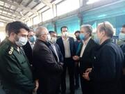 بازدید مسئولان فیروزکوه از واحد صنعتی قلم صفا