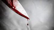 قتل خونین با ضربات چاقو  + جزئیات