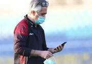 کار وزارت بهداشت برای قرنطینه پرسپولیس را تایید میکنم