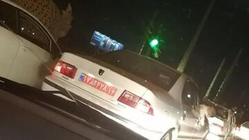 سگ گردانی با خودروی دولتی در اهواز !