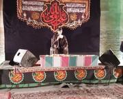 مردم ورامین میزبان پیکر مطهر شهید گمنام بودند