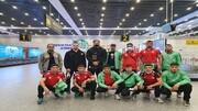 تیم ملی بوکس ایران به تاشکند رسید