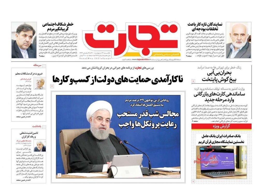 وضعیت بورس از کرونا قرمزتر شد/ آینده بازار خودروی کشور روی موج وین/ تکلیف نرخ بهره در اقتصاد ایران چیست؟