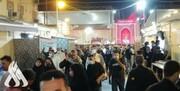 حضور هزاران زائر در نجف اشرف در شب شهادت امیرالمومنین (ع) +عکس