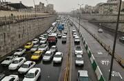 آغاز ترافیک صبحگاهی در معابر پایتخت