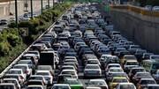 وضعیت ترافیک تهران