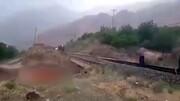 ریزعلی های گرمساری در سیل روز گذشته + فیلم