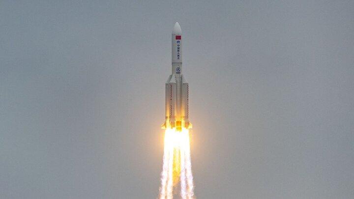 خطر بقایای موشک چینی برای اجسام روی زمین کم است