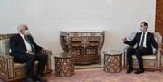دیدار رئیس الحشد الشعبی با رئیس جمهور سوریه