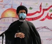 روز قدس یادگار امام راحل است
