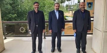 محسن رضایی در دیدار انتخاباتی با محمد و قاسمی +عکس
