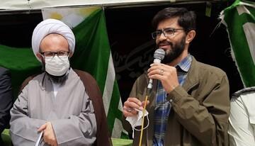 حضور حداکثری در انتخابات مشتی بر دهان یاوه گویان جمهوری اسلامی ایران می باشد