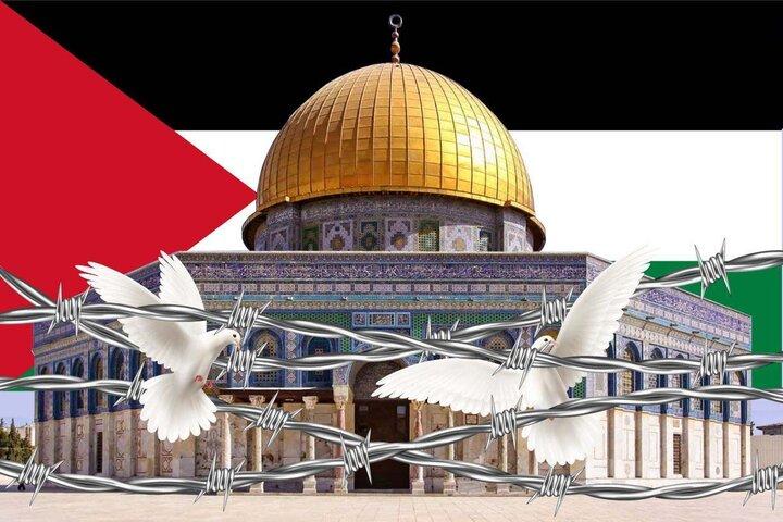 مشکلات جهان با حل مسئله فلسطین رفع میشود