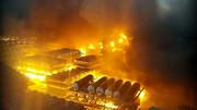 اسید 4 آتش نشان را سوزاند + فیلم